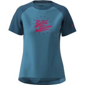 Zimtstern PureFlowz SS Shirt Women, heritage blue/french navy